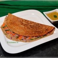 Breakfast with Black Eyed Peas / Alasanda Dosa