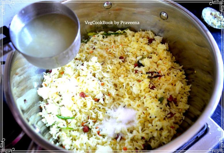 authentic lemon rice / nimmakaya pulihora.South Indian traditional festive, vegan, quick, easy, family dinner in Instant pot pressure cooker.