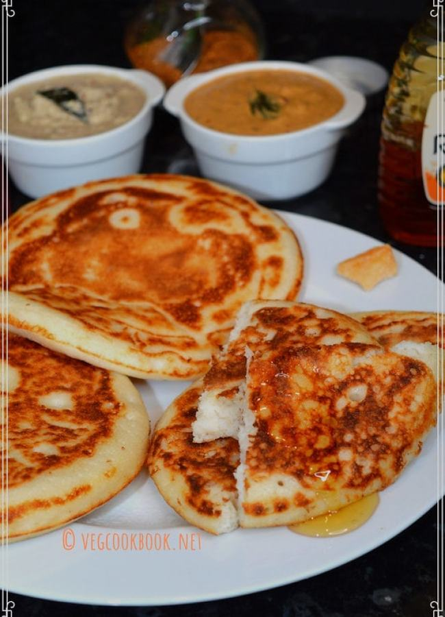 dibba rotte / plumpy roti (andhra style) South Indian Andhra style, Ancient, Traditional, Protein Rich, Breakfast recipe using fermented batter. Has step wise pics and tips.