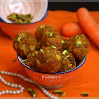 Carrot-Coconut Laddoo / Sweet Treats