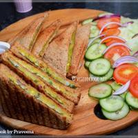 Indian Masala Sandwich