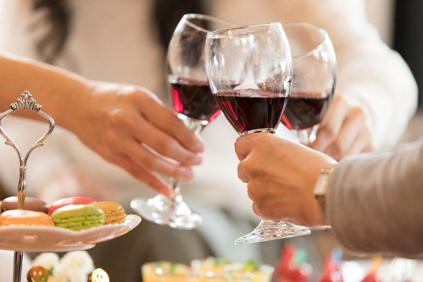 ワインを楽しむ