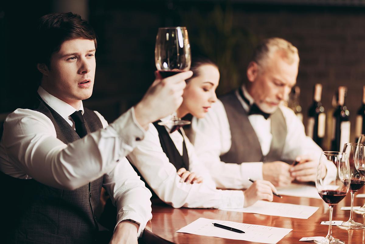 ワインのテイスティング