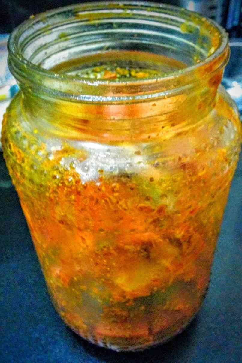 Carrot Pickle | Gajar Ka Achar Recipe Instructions