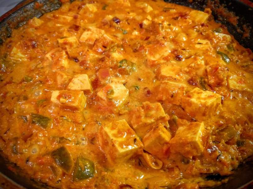 Paneer Capsicum Masala Recipe Step By Step Instructions 13