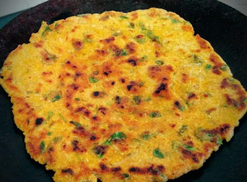 Makki Mooli Methi Paratha Recipe Instructions