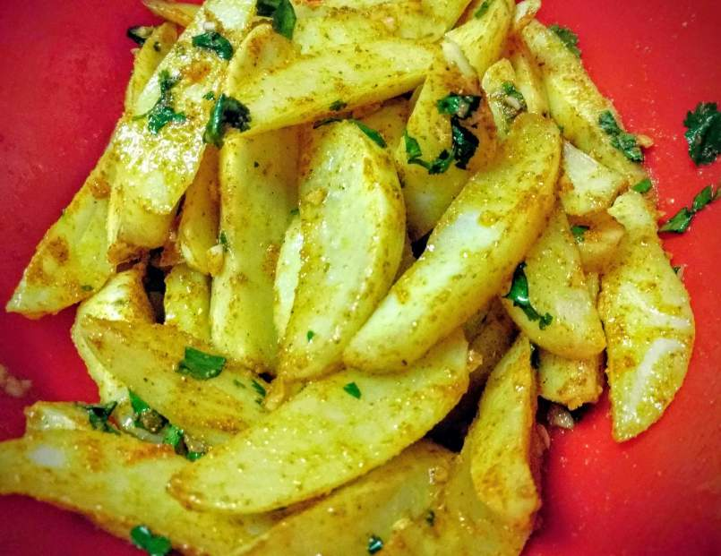 Potato Wedges Recipe Step By Step Instructions 6
