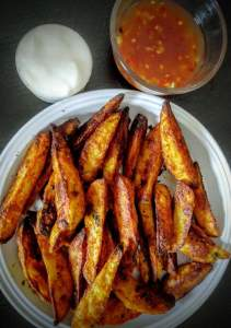 Potato Wedges Step By Step Recipe