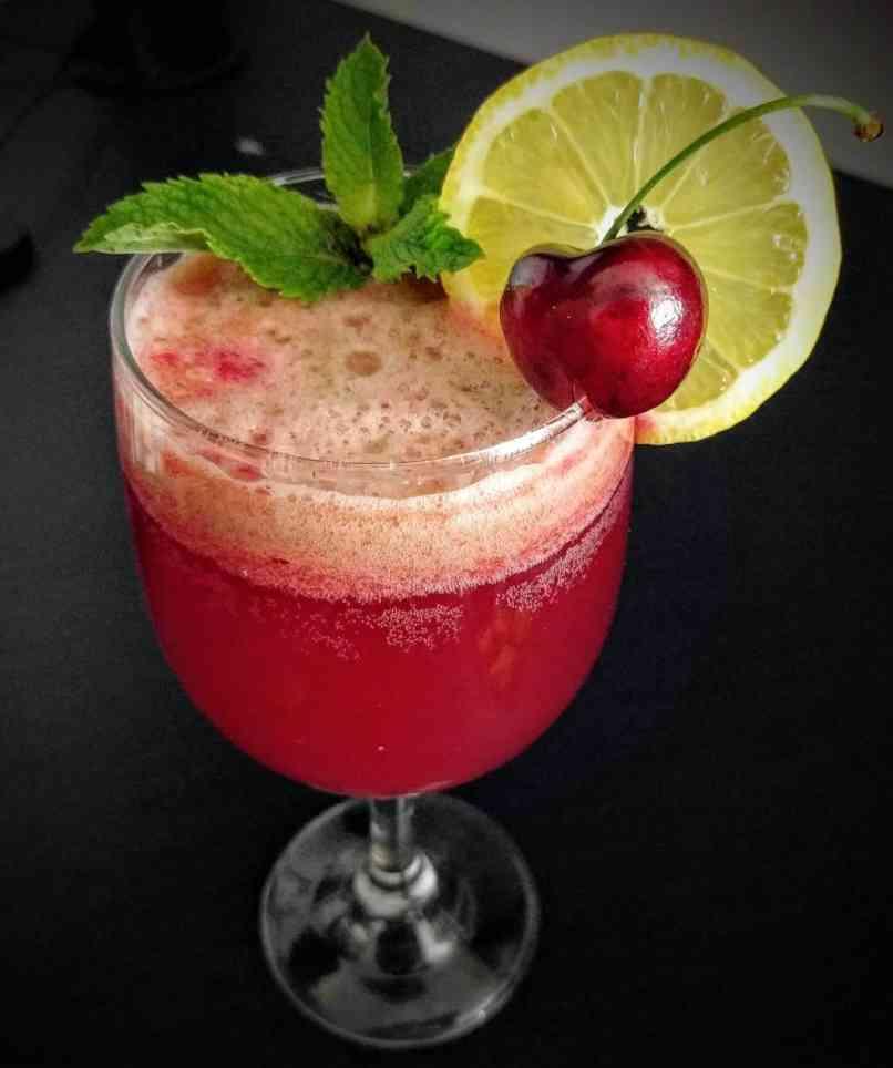 Cherry Lemonade Recipe Step By Step Instructions