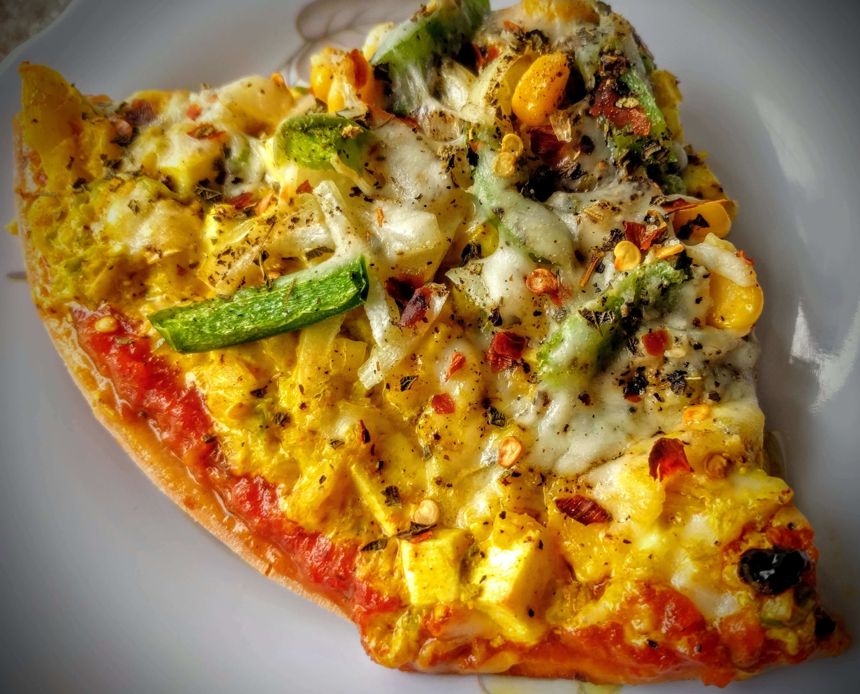 Paneer Tikka Pizza Recipe Step By Step Instructions