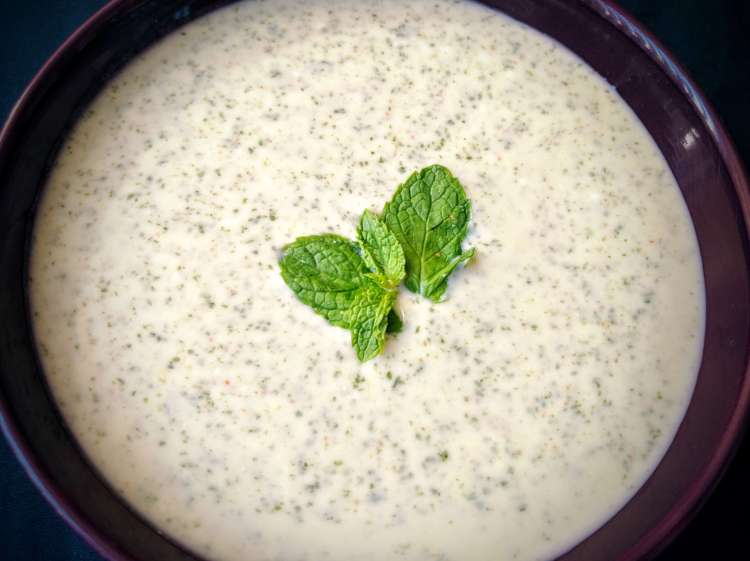 Mint Raita Recipe Step By Step Instructions