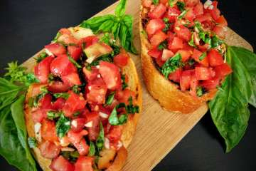 Tomato Basil Bruschetta Recipe Step By Step Instructions 10