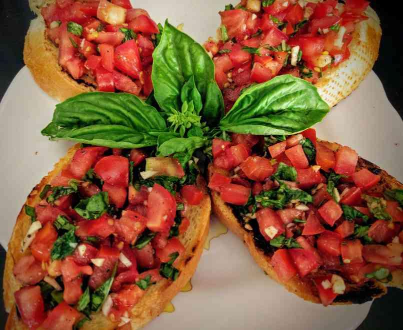 Tomato Basil Bruschetta Recipe Step By Step Instructions 11