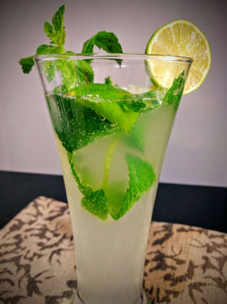 Virgin Mojito Recipe Step By Step Instructions