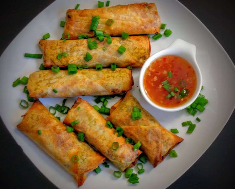 Veg Spring Rolls Recipe Step By Step Instructions