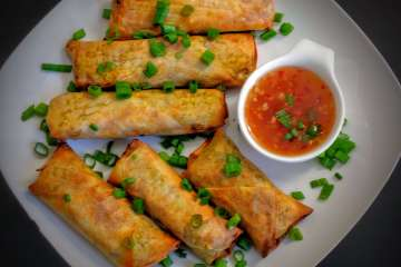 Spring Roll Recipe Step By Step Instructions