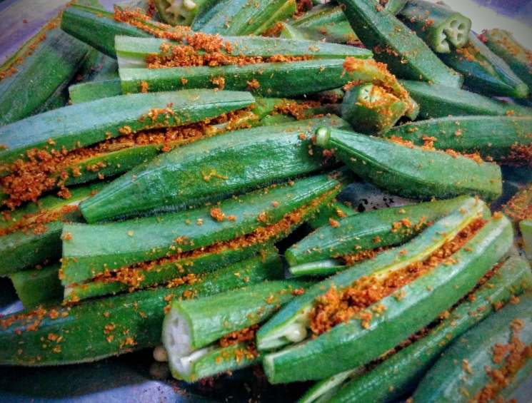 Bharwa Bhindi Recipe Step By Step Instructions 6