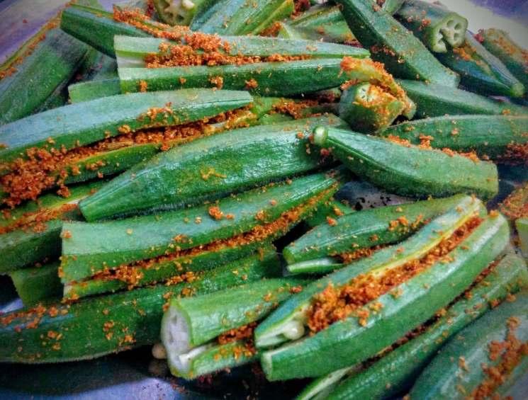 Bharwa Bhindi Recipe Step By Step Instructions 6