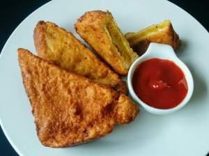 Aloo Bread Pakora Recipe Step By Step Instructions