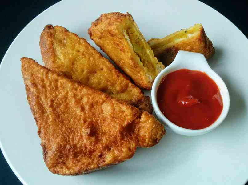 Aloo Bread Pakora Recipe Step By Step Instructions