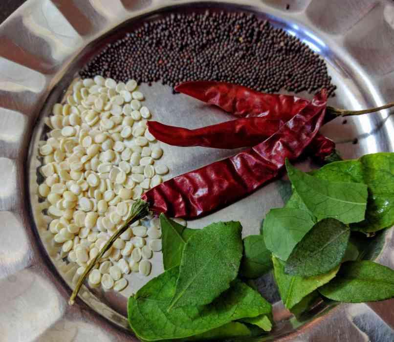 Coconut Chutney Recipe Step By Step Instructions 5