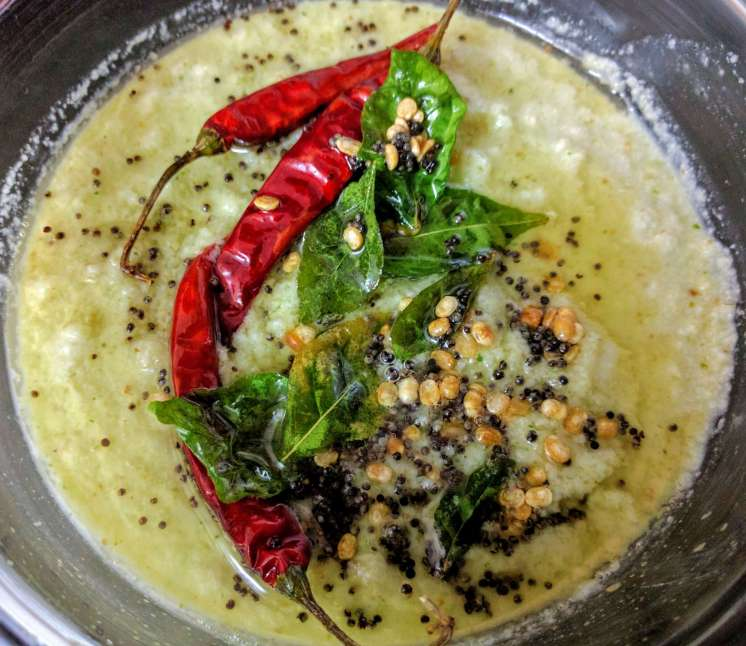 Coconut Chutney Recipe Step By Step Instructions 9