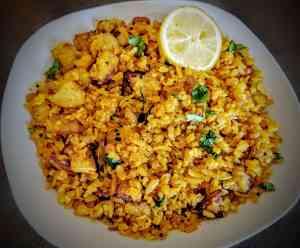 Aloo Poha   Kanda Batata Poha Recipe Step By Step Instructions