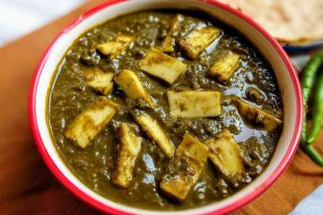 Palak Paneer Recipe Step By Step Instructions Cover