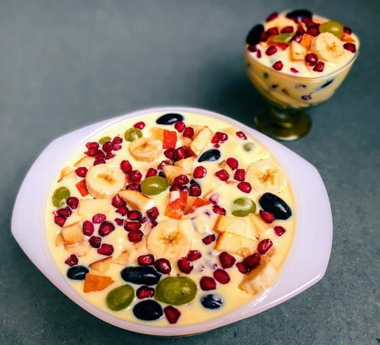 Image result for Fruit Custard Recipe