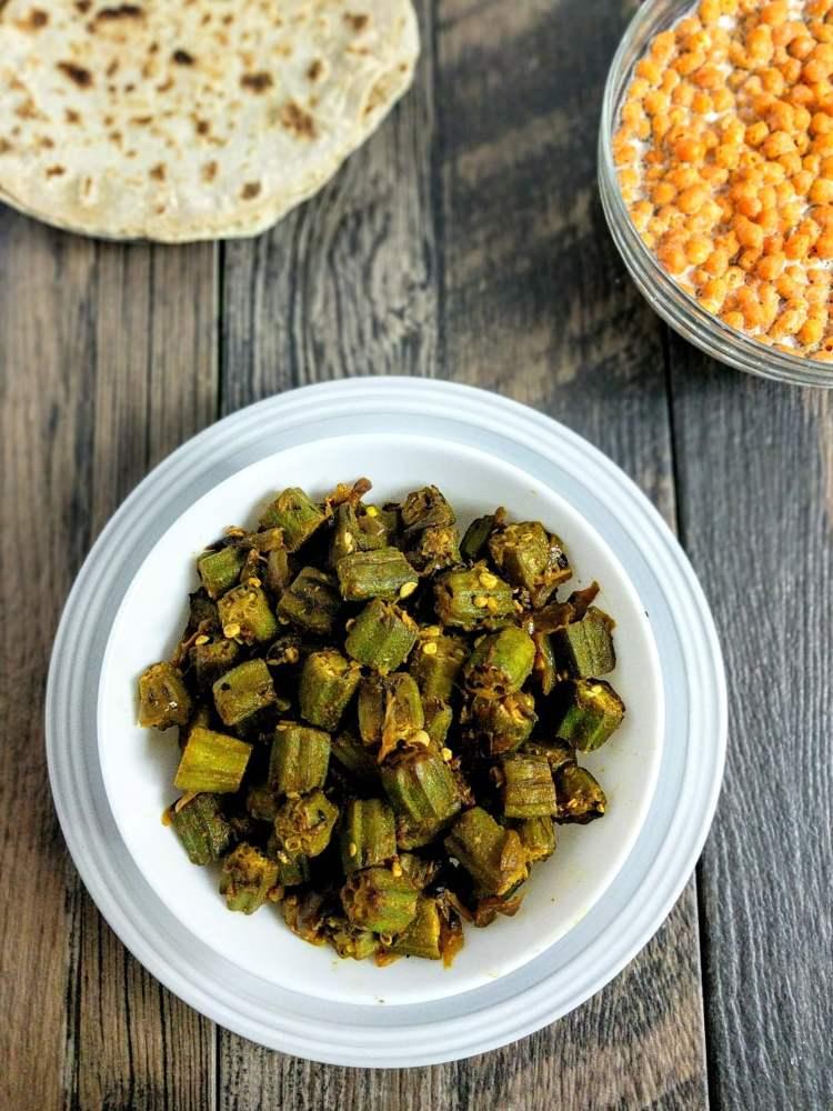 Bhindi Do Pyaza Recipe Step By Step Instructions