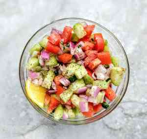 Kachumber Salad Recipe Step By Step Instructions