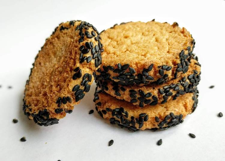 Sesame Cookies Recipe Step By Step Instructions