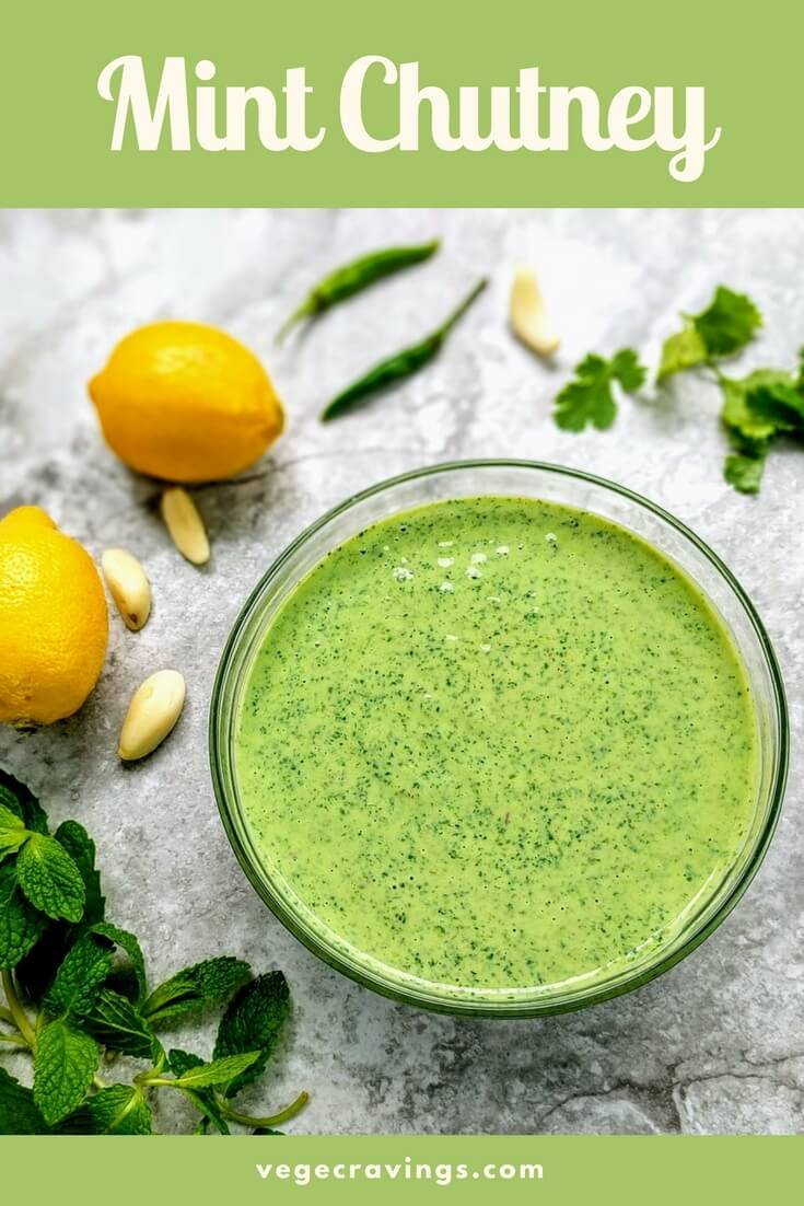 Mint Chutney Recipe | Pudina Chutney | Green Chutney