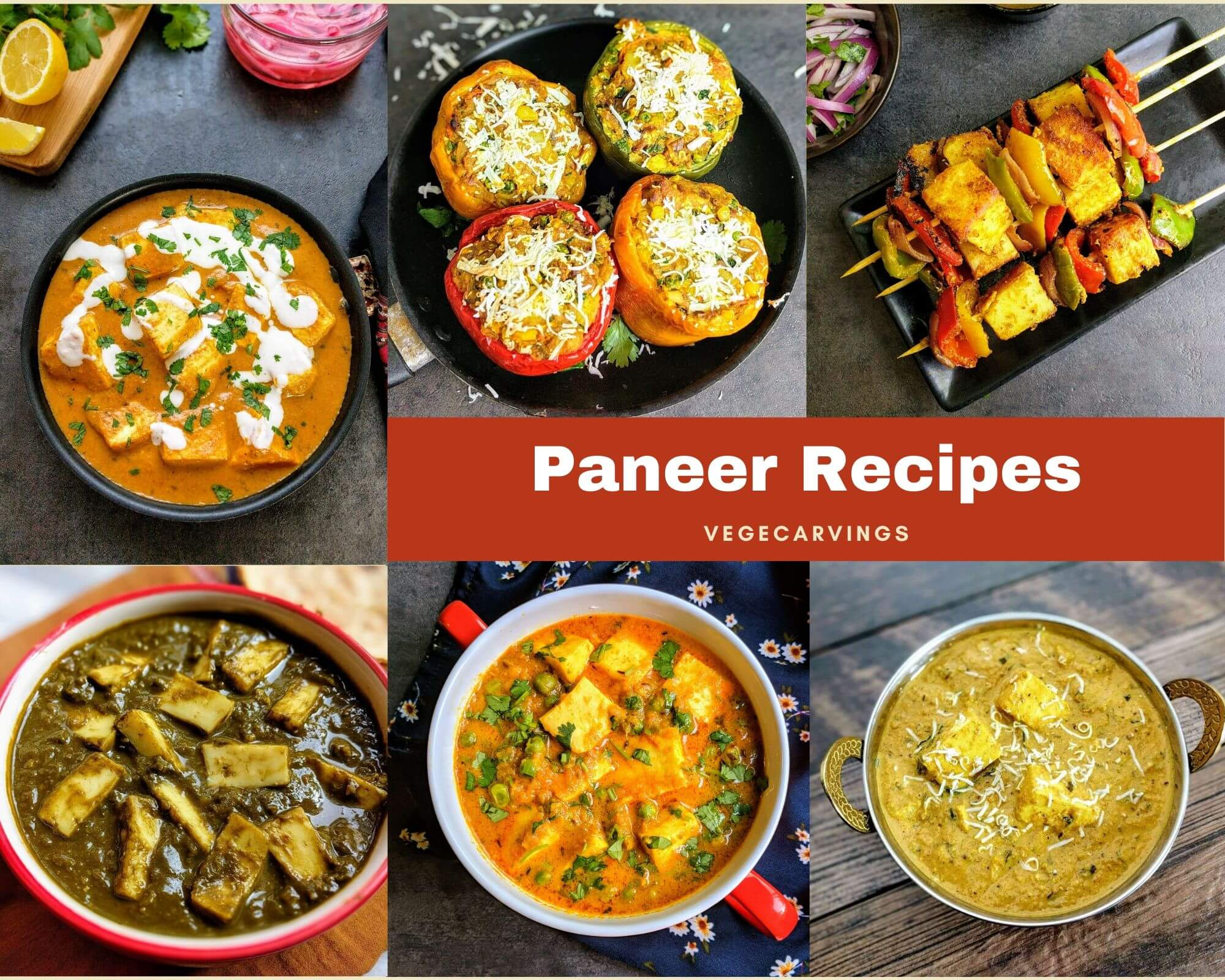 Paneer is an integral part of Indian cooking, be it curries, snacks or desserts. See our list of simple and delicious Paneer Recipes.