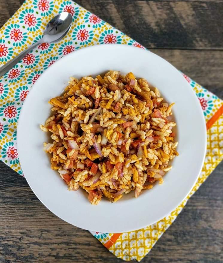 Bhel Puri Recipe Step By Step Instructions