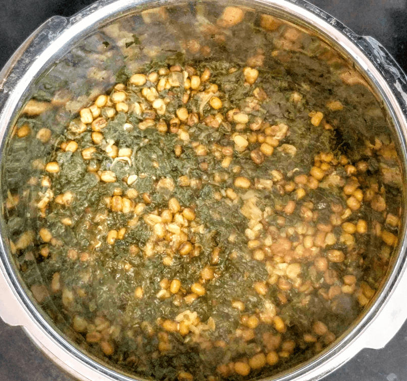 Dal Palak Recipe Step By Step Instructions 5