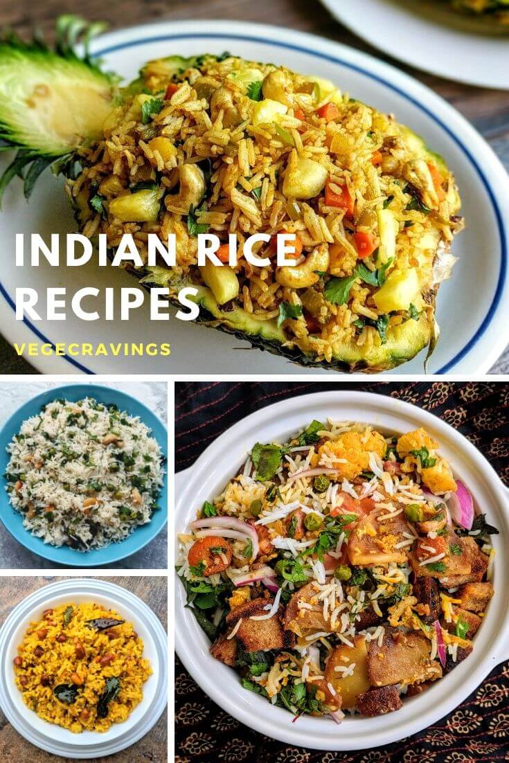 Rice is enjoyed in different ways throughout the coutry & each preparation is unique & exquisite. Explore our list of Indian veg rice recipes.
