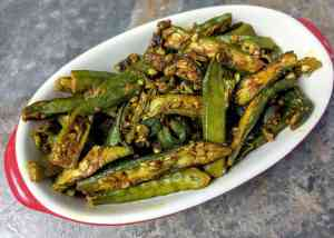 Bhindi Ki Sabzi Recipe Step By Step Instructions