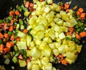 Thai Pineapple Fried Rice Recipe Step By Step Instructions 4