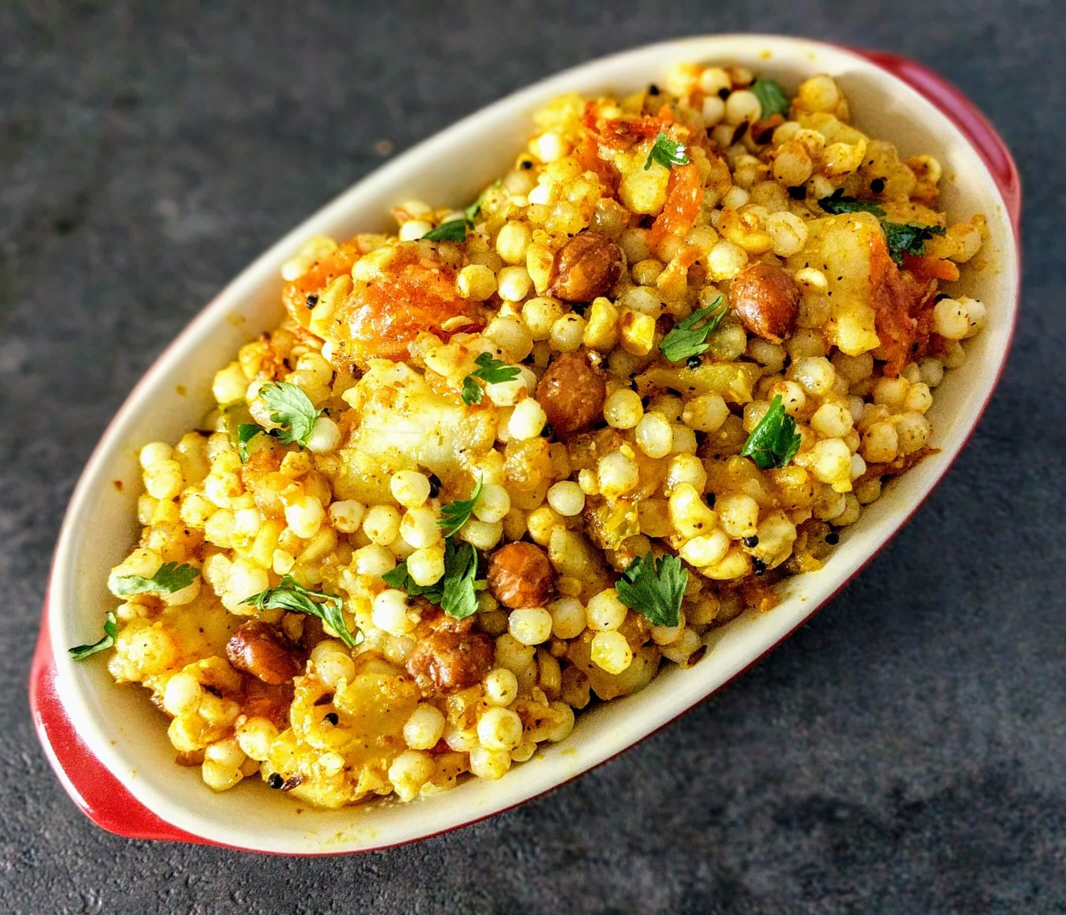 Sabudana Khichdi Recipe Step By Step Instructions 12