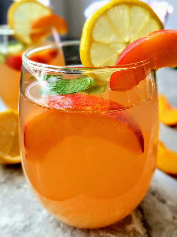 Peach Lemonade Recipe Step By Step Instructions 10