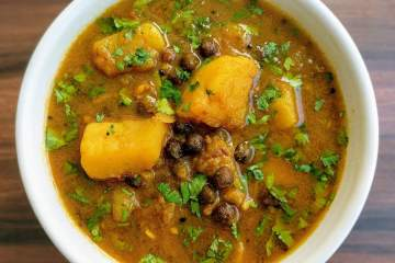 Aloo Choliya Recipe Step By Step Instructions