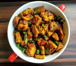 Bread Upma Recipe Step By Step Instructions