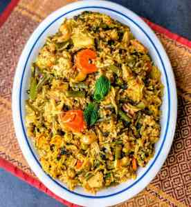 Quick Veg Biryani Recipe Step By Step Instructions