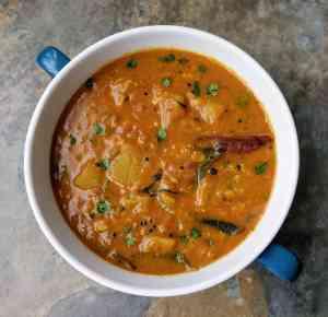 Sorakkai Sambar Recipe Step By Step Instructions