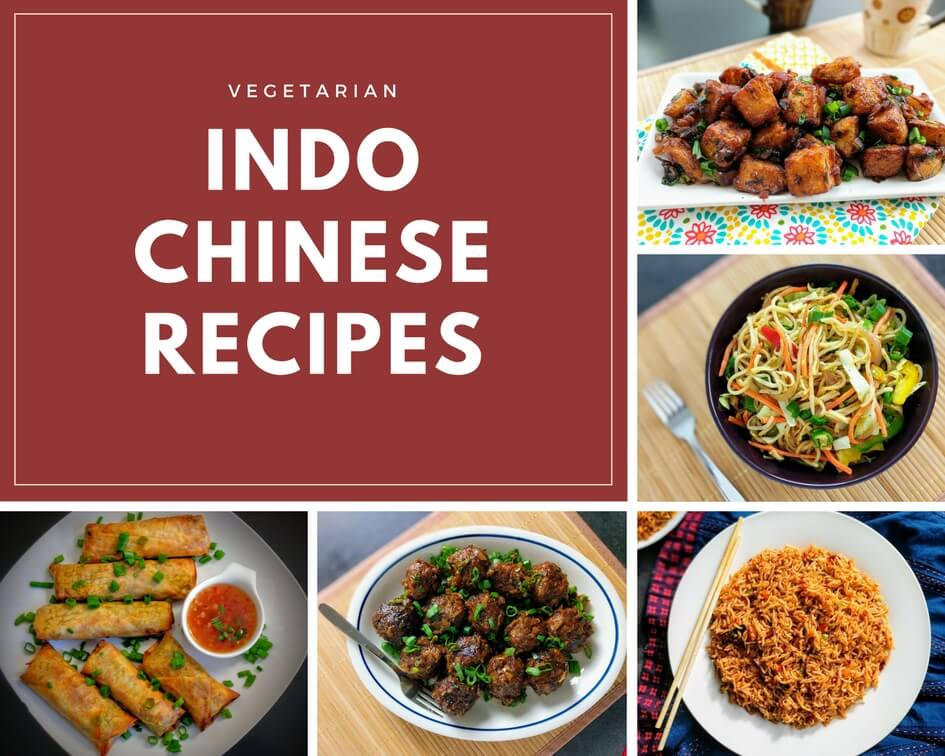 Indo Chinese Recipes are a popular part of Indian Food and can be found everywhere from the humblest of street side stalls to the fanciest of restaurants. This unique style of cooking is inspired by Chinese food and is adapted to suit Indian tastes & locally available ingredients.
