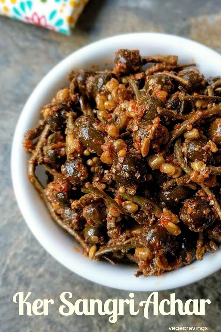 Ker Sangri Achar Recipe | Rajasthani Recipes