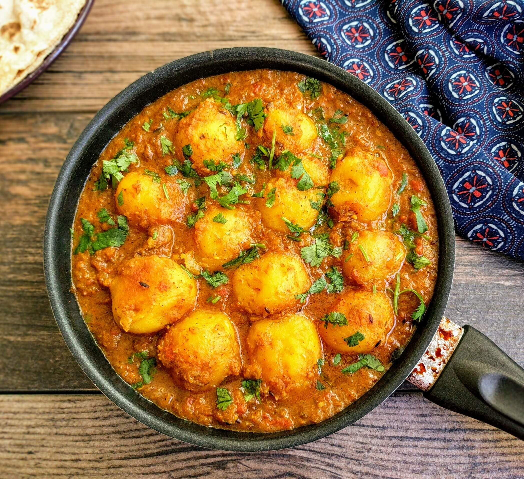 Dum Aloo Recipe Step By Step Instructions