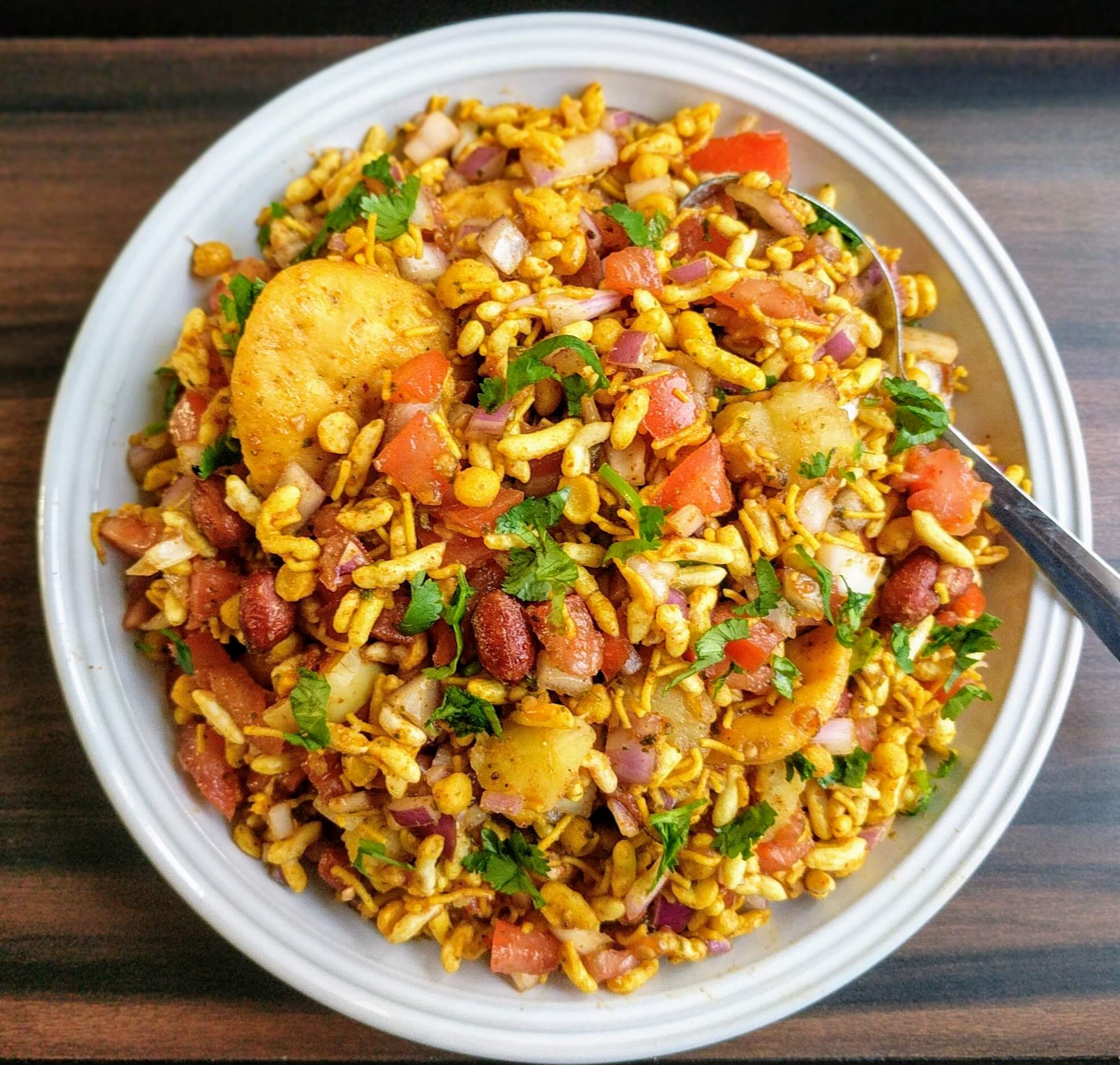 Bhel Puri Recipe Step By Step Instructions