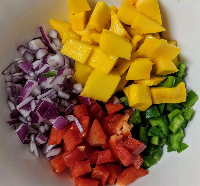 Mango Salsa Recipe Step By Step Instructions 1